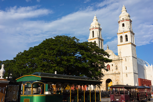 Foto: Centro de Campeche, 10 de abril 2019. Getty Images, archivo