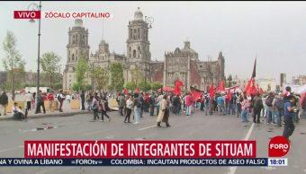 Foto: Circuito del Zócalo, afectado por manifestación del SITUAM