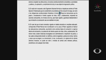 FOTO:CNDH pide a AMLO que rectifique sobre reforma educativa, 18 ABRIL 2019
