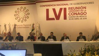 Conago y empresarios firman acuerdo para paz laboral
