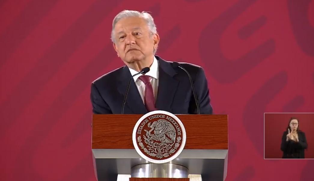 FOTO Transmisión en vivo: Conferencia de prensa AMLO 8 de abril 2019 (YouTube)