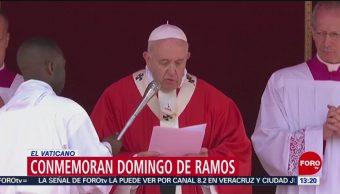 FOTO: Conmemoran Domingo de Ramos en el Vaticano, 14 de abril 2019