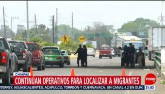 FOTO: Continúan operativos para localizar a migrantes en Chiapas, 27 ABRIL 2019