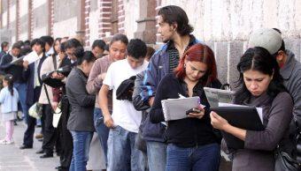 Desempleo en México alcanza nivel más alto en casi 2 años