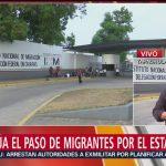 Foto: Fugas Migrantes Estaciones Migratorias Cuatro Días 29 Abril 2019