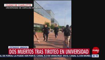 Foto: Muertos Tiroteo Universidad De Carolina Del Norte 30 de Abril 2019