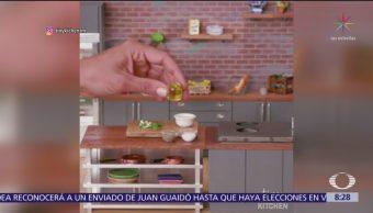 El arte de preparar comida en miniatura