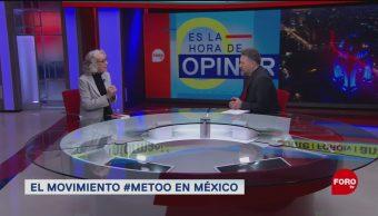 Foto: Marta Lamas #Metoo Me Too 10 de Abril 2019