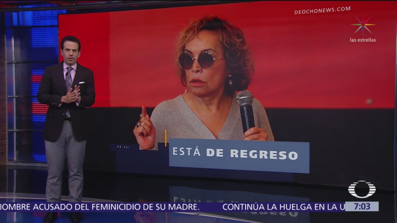 Elba Esther Gordillo confirma que buscará dirigencia del SNTE
