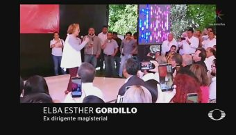 Foto: Elba Esther Gordillo Reaparece Puebla 8 de Abril 2019