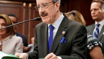 Foto: Eliot Engel, presidente del Comité de Asuntos Exteriores de la Cámara de Representantes, 27 de marzo de 2019, Washington, EU