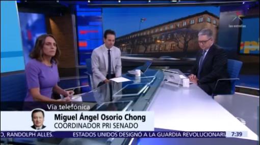 Estamos en contra de aprobar una tenencia federal: Osorio Chong