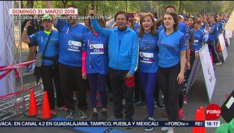Foto: Exitosa, primera carreta contra cáncer colorrectal en CDMX