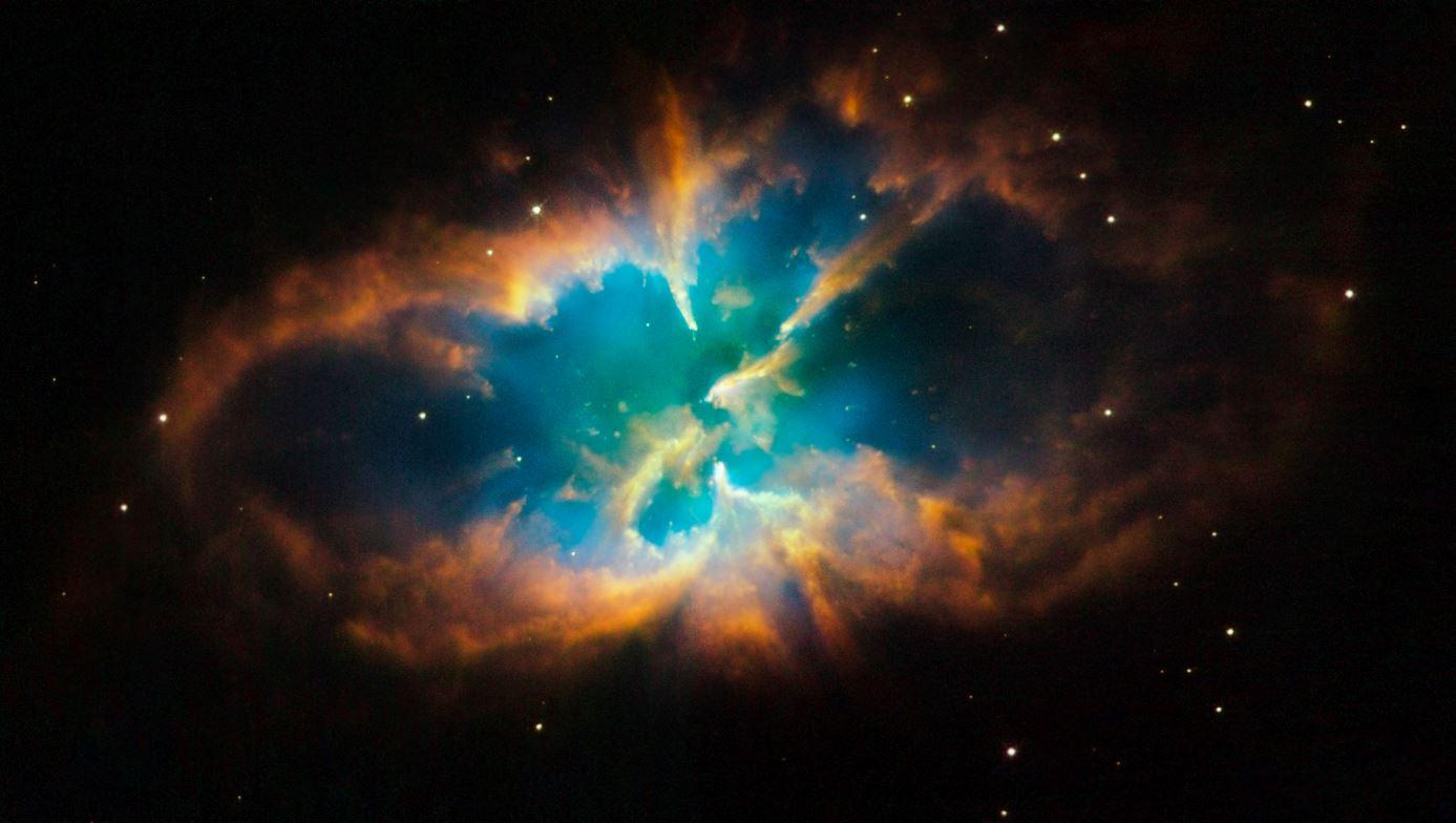 NASA publica fotografía de una 'mariposa galáctica'