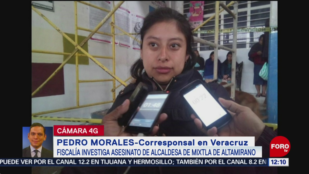 Fiscalía de Veracruz investiga asesinato de alcaldesa de Mixtla