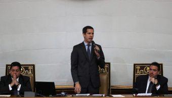 Foto: El líder opositor Juan Guaidó participa en una sesión de la Asamblea Nacional en Caracas, Venezuela. El 2 de abril de 2019