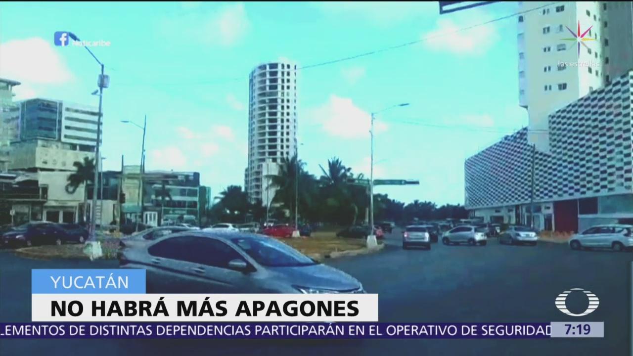 Garantiza CFE que no habrá más apagones en Yucatán