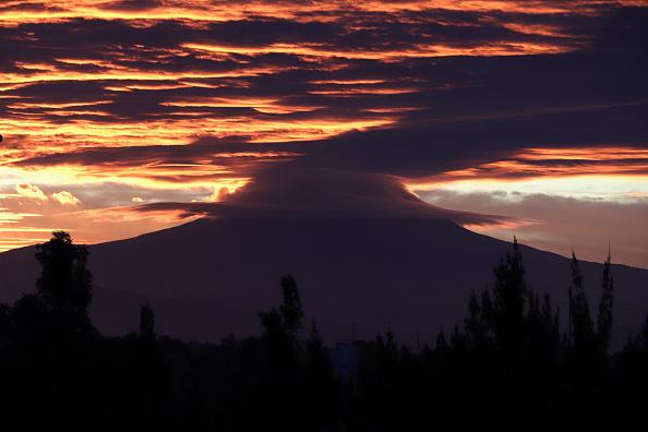 Aumentan dimensiones del cráter del Popocatépetl