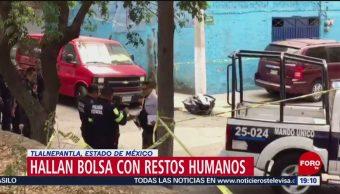 Foto: Encuentran Bolsa Restos Humanos Tlalnepantla Edomex 5 de Abril 2019