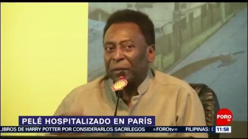 Hospitalizan a Pelé tras encuentro con Kylian Mbappé
