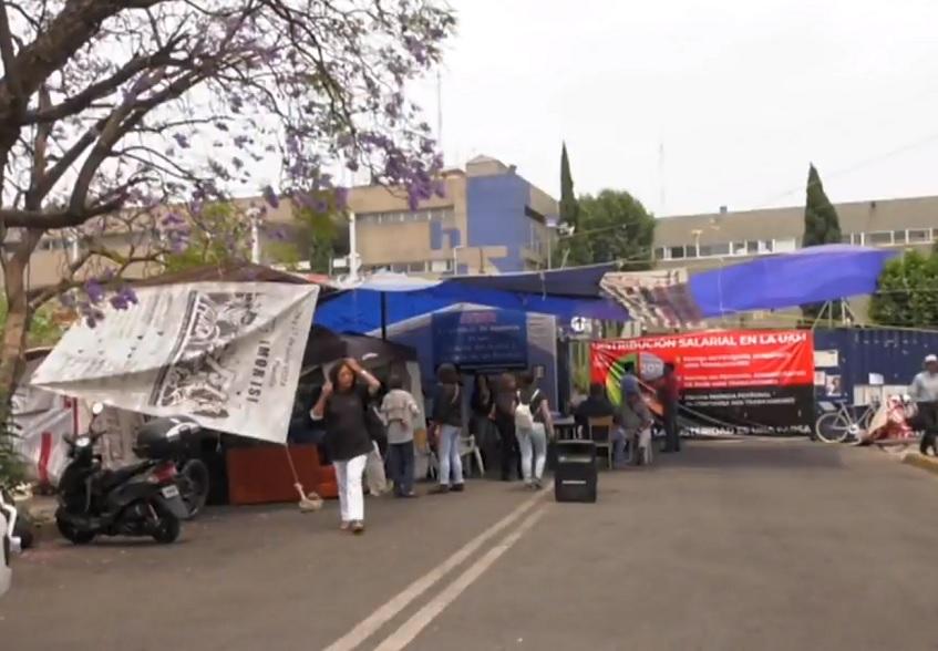 UAM sigue en huelga, la más larga en 45 años