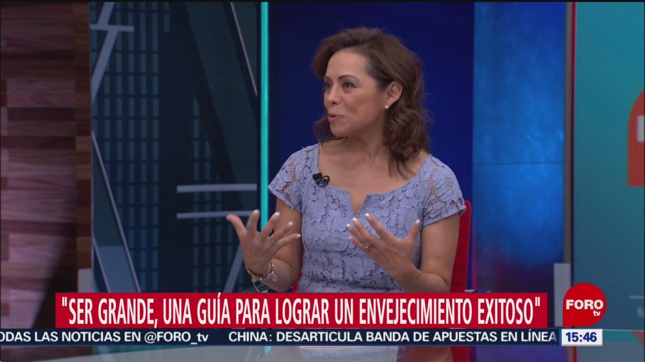Foto: Josefina Vázquez Mota habla del envejecimiento poblacional