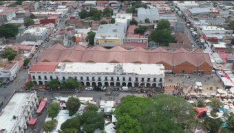 Foto: Juchitán Estrena Mercado Daños Sismo 11 de Abril 2019