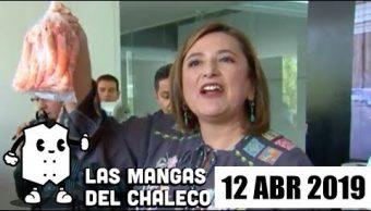Foto: Las Mangas del Chaleco albures de Xóchitl Gálvez, AMLO sin estilo y estrés por cambio de horario