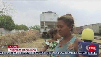 FOTO: Llegan migrantes a Ixtepec, en Oaxaca, 28 ABRIL 2019