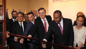 Ebrard se pronuncia por solución pacífica para Venezuela