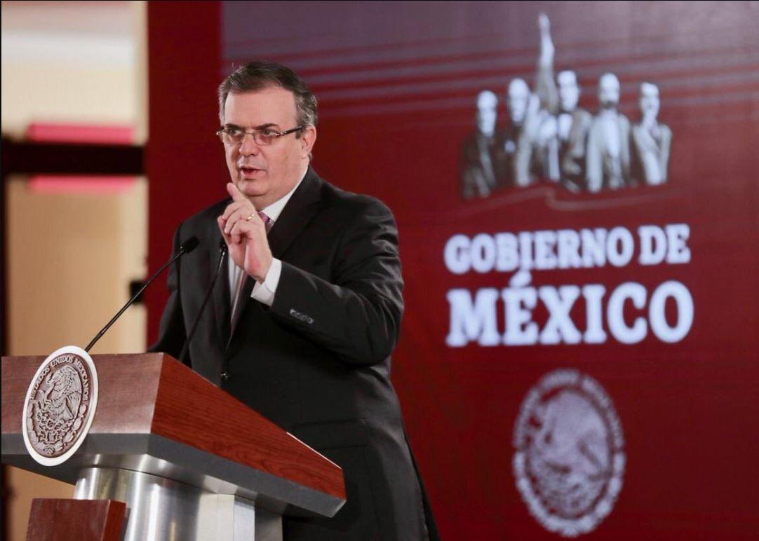 Imagen: Marcelo Ebrard dijo que la reforma laboral aprobada en la Cámara de Diputados forma parte de los elementos cumplidos para darle confianza al sector privado de Estados Unidos, el 13 de abril de 2019 (Twitter @m_ebrard)