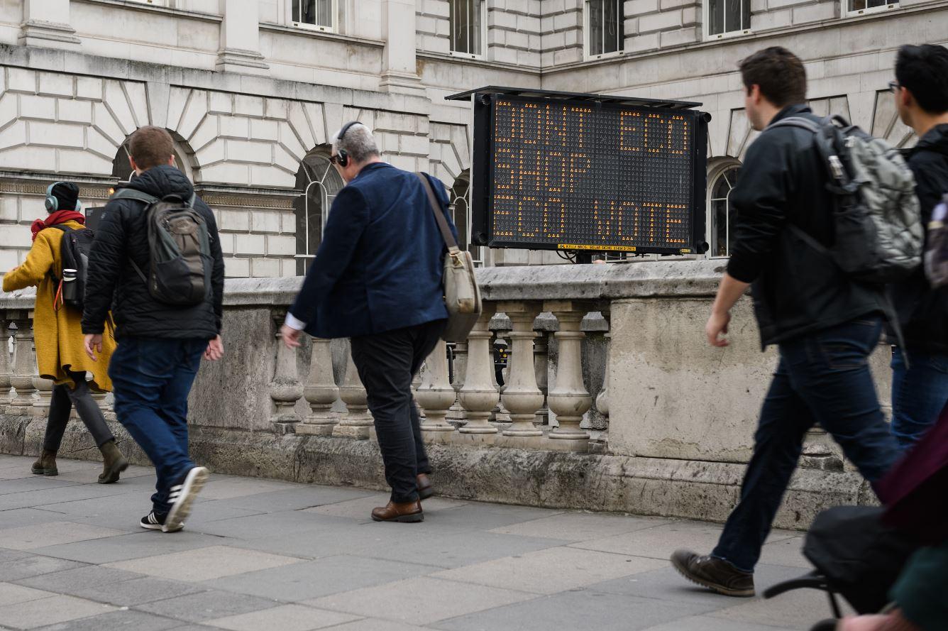 Más de 1000 manifestantes británicos han sido arrestados en Londres durante intensas jornadas de protestas contra el cambio climático (GettyImages)