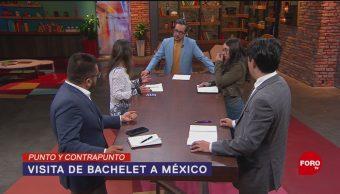 Foto: Michelle Bachelet visita México