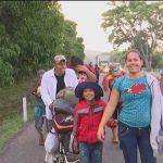 Foto: Migrantes Avanzan Chiapas 16 de Abril 2019