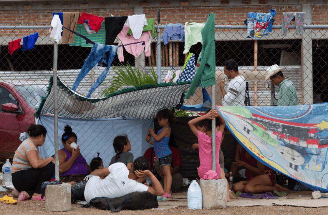 Foto: Migrantes centroamericanos en Chiapas, 2 de marzo de 2019, México