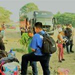 Retienen a viacrucis migratorio de cubanos en Chiapas