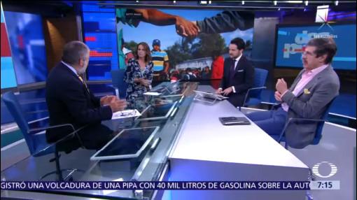 Migrantes, México y Trump, análisis en Despierta con Loret