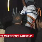 Foto: Muere Migrante Abordo De La Bestia 29 de Abril 2019