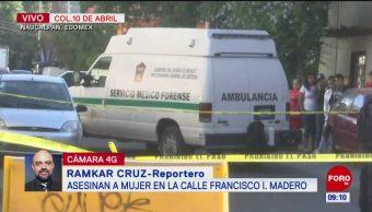 Mujer recibe tres disparos en calle de Naucalpan, Edomex