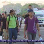 Nueva caravana de migrantes avanza en Chiapas