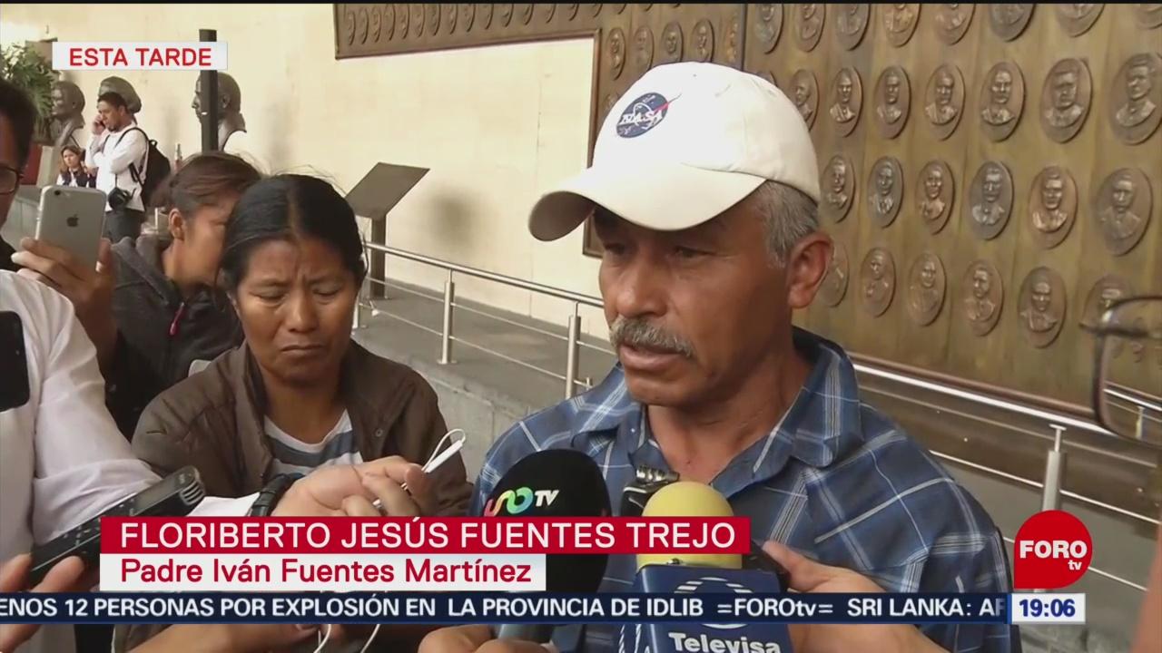 FOTO: Padre de víctima señala a exdiputado Charrez por muerte de su hijo, 24 ABRIL 2019