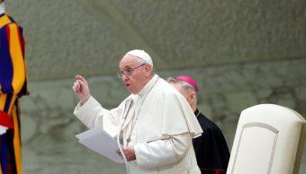 Foto: El Papa Francisco habla durante una audiencia con estudiantes de la escuela secundaria Rome Visconti en el Vaticano, abril 13 de 2019 (Reuters)