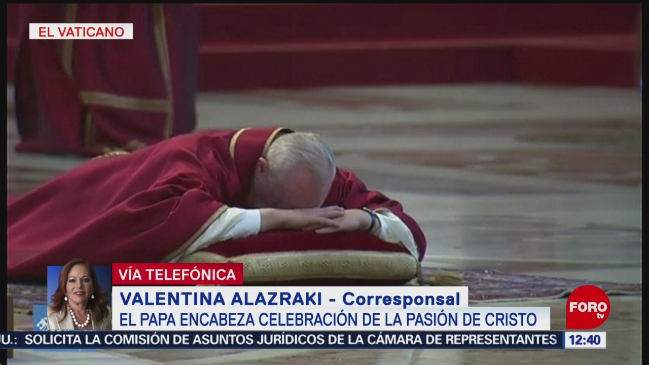 FOTO: Papa encabeza celebración de la Pasión de Cristo, 19 ABRIL 2019