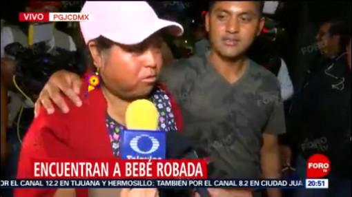 FOTO: Pareja detenida confiesa que compraron a la bebé Nancy Tirzo por 6 mil pesos, 18 ABRIL 2019