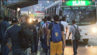 Foto: Paro Transportistas Afecta Traslados Monterrey 29 de Abril 2019