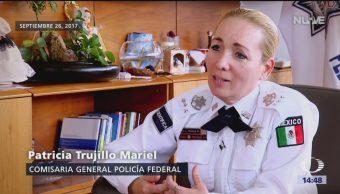 Patricia Trujillo Mariel coordinará la PF en la Guardia Nacional