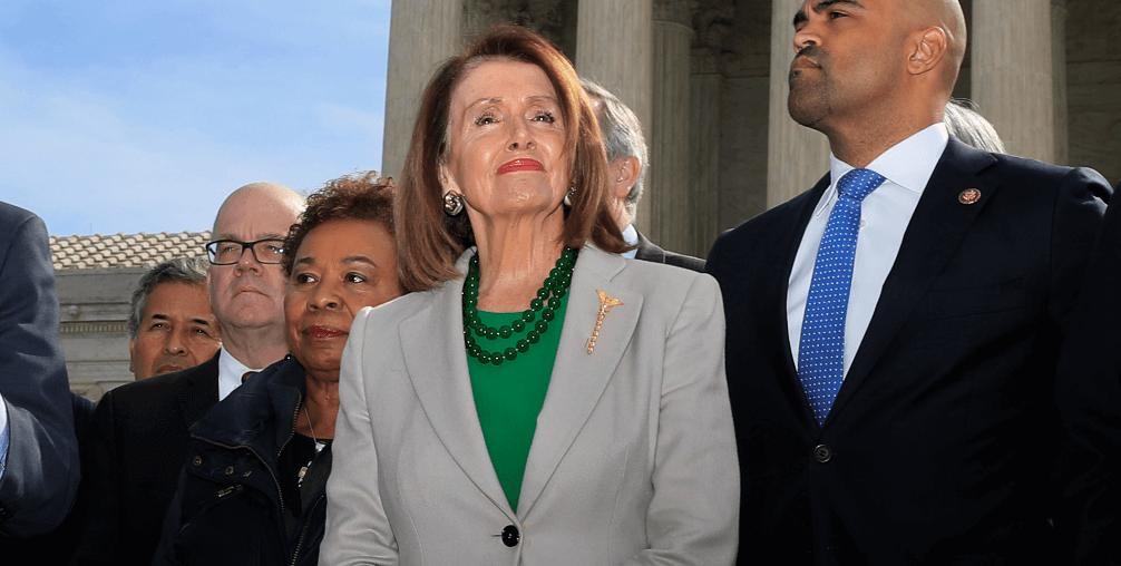 FOTO Pelosi: EU no votará T-MEC sin reforma laboral en México (AP 2 abril 2019 washington)