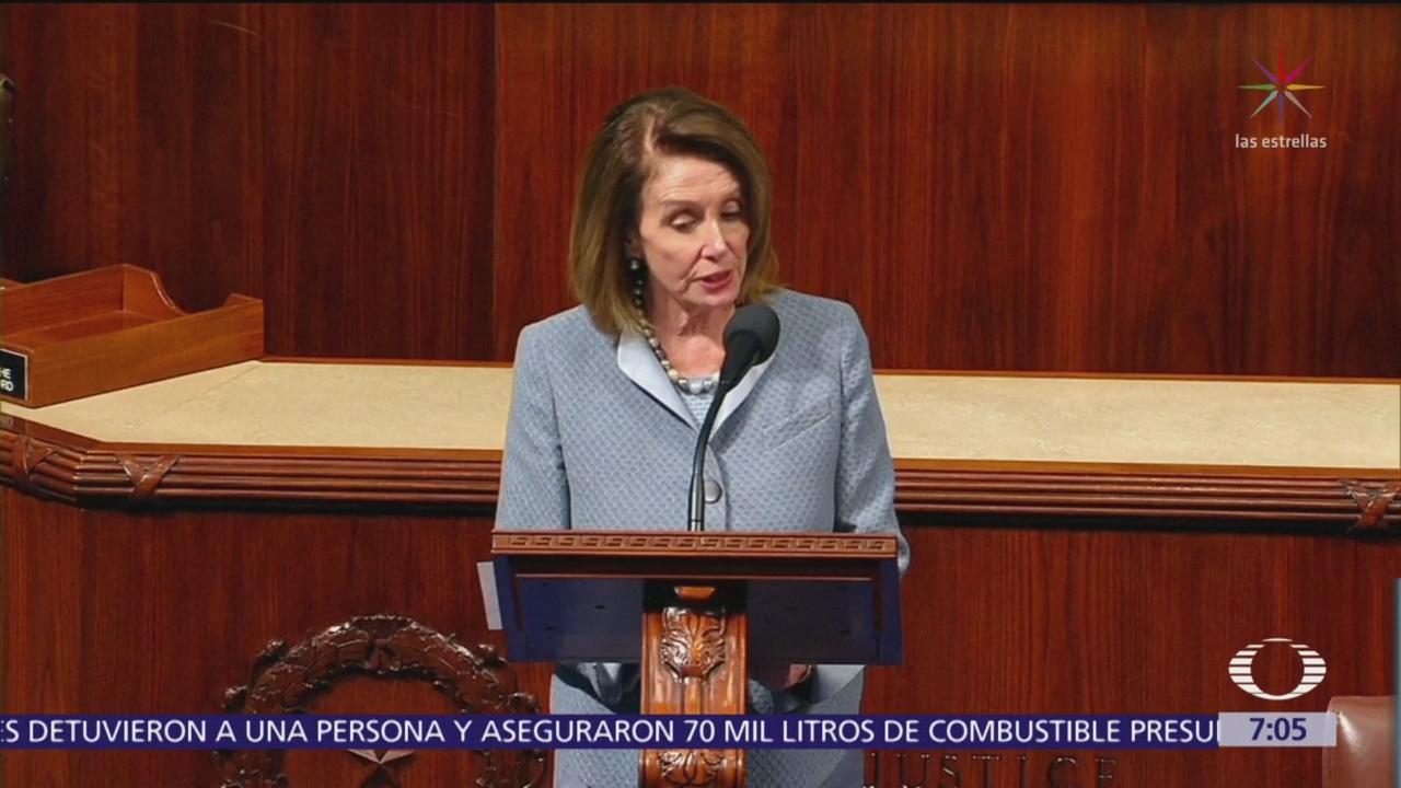 Pelosi: EU no ratificará T-MEC sin reforma laboral en México