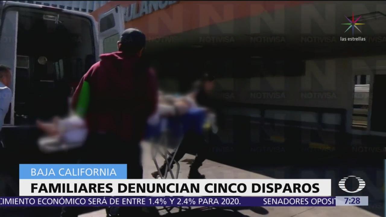 Pescador herido durante disturbios en San Felipe está grave