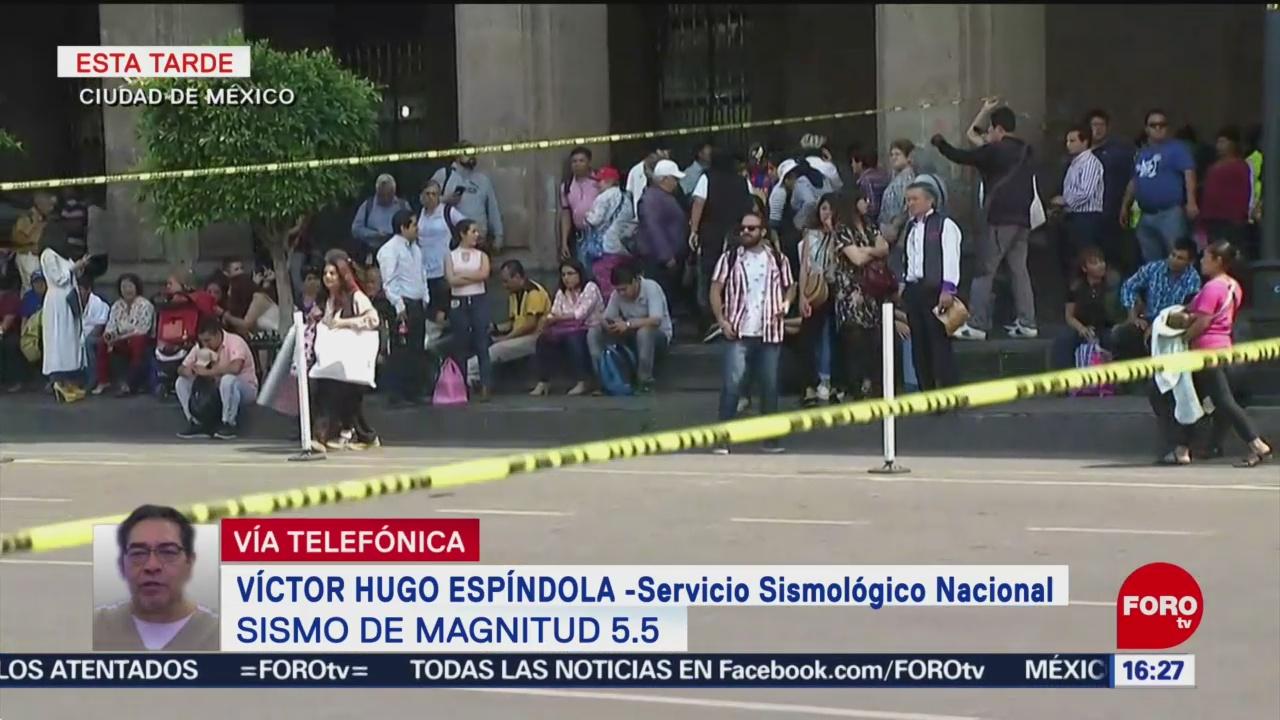 Foto: Por qué no sonó la alerta sísmica en CDMX tras temblor de 5.5